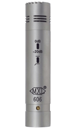 MXL 606 Small Diaphragm Instrument Microphone