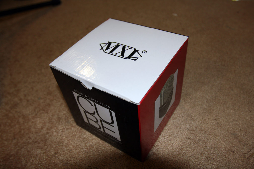MXL Drum Cubes Come With The Original Box And Owners Manual
