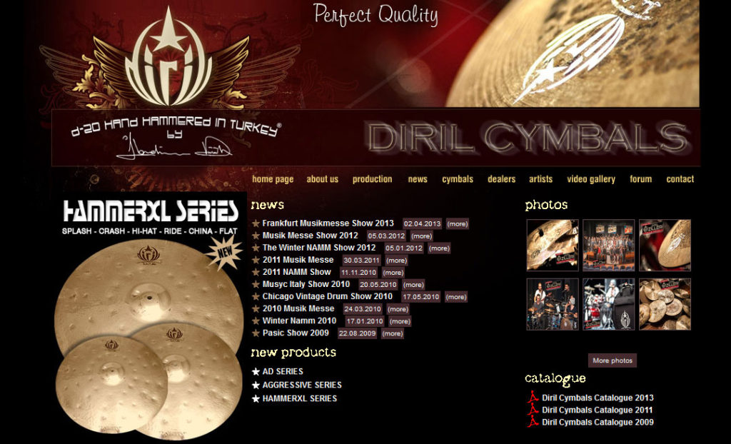 Diril Cymbals At Clark's Music Center March 2016